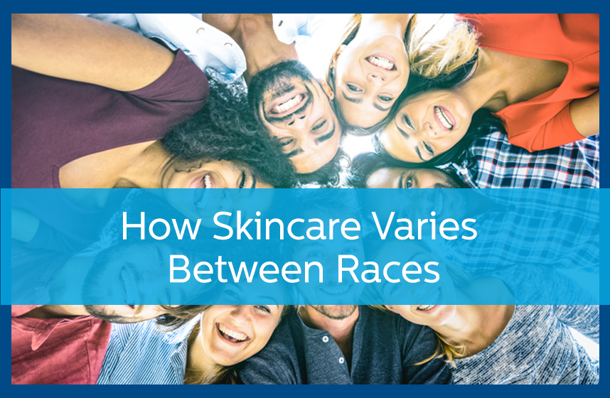 Multiple ethnically diverse people, wondering about How Skincare Varies Between Races.
