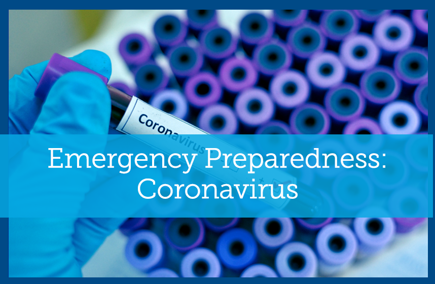 Emergency Preparedness: Coronavirus